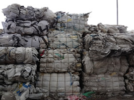 PP Big Bags Grade B baled